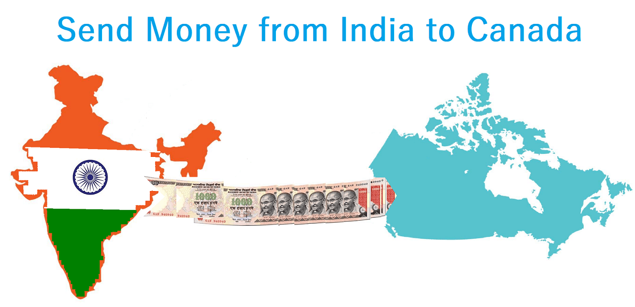 Send Money From India to Canada